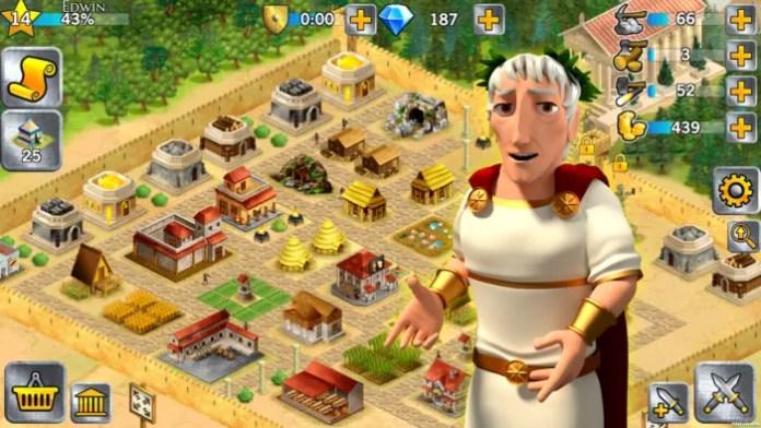 game membangun kerajaan untuk android 1