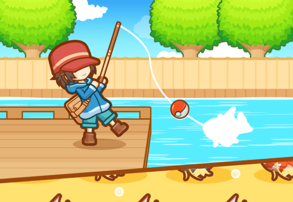 Game Pokemon Terbaru Magikarp Jump