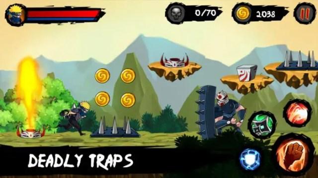 Ninja Runner Adventure Petualangan Kakashi Mengumpulkan Koin 4
