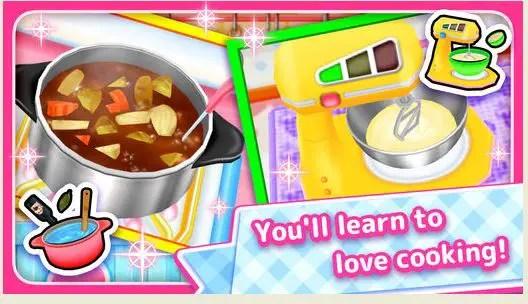 Game Memasak lets cooking
