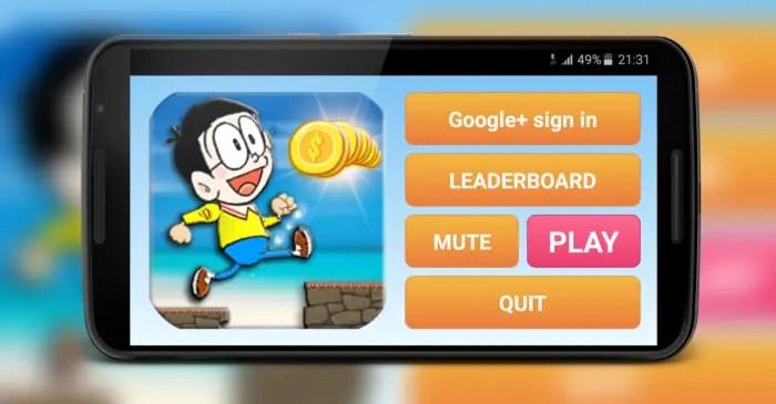 Nobita run adventure