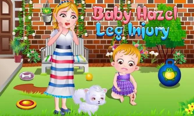 Baby Hazel Leg Injury