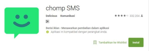 review chomp SMS