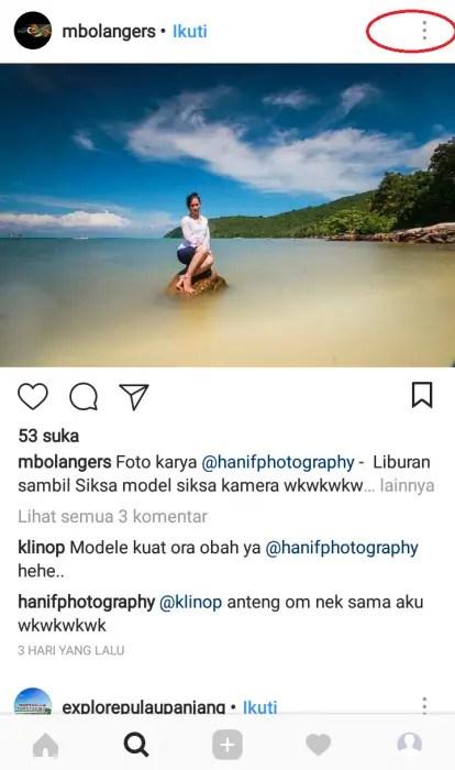 Cara Copy Link URL Instagram (Akun, Foto, Video) di Android (1)