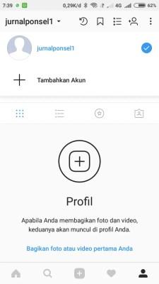 Cara login dua atau lebih akun instagram (2)