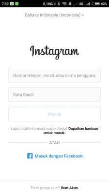 Cara login dua atau lebih akun instagram (3)