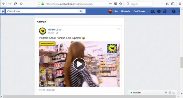 cara download video di facebook tanpa apk