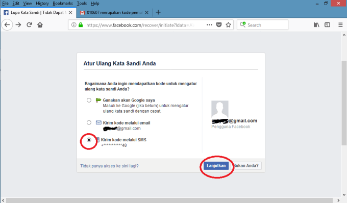 Lupa Kata Sandi Facebook Baca Cara Mudah Reset Sandi Fb