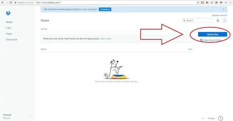 cara membuat dropbox di email yahoo