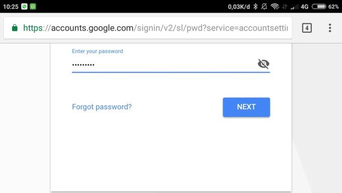masukkan password baru gmail kamu