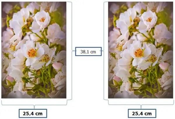 contoh ukuran foto 10R plus dalam satuan cm