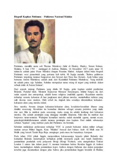Contoh Biografi Lengkap