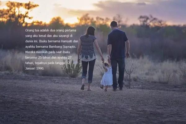 Contoh Biografi Singkat keluarga