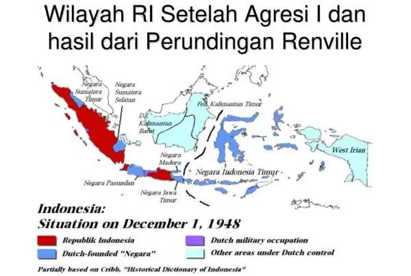 Wilayah Indonesia Pasca Perjanjian Renville