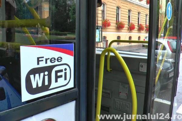 internet gratuit pe autobuzele RAT Brasov