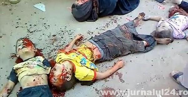 copii impuscati irak