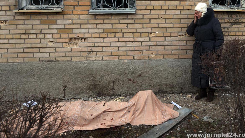 ucrainian ucis in bombardament