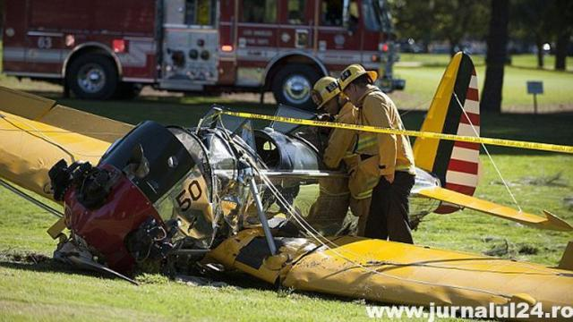 Harrison Ford avion accidentat