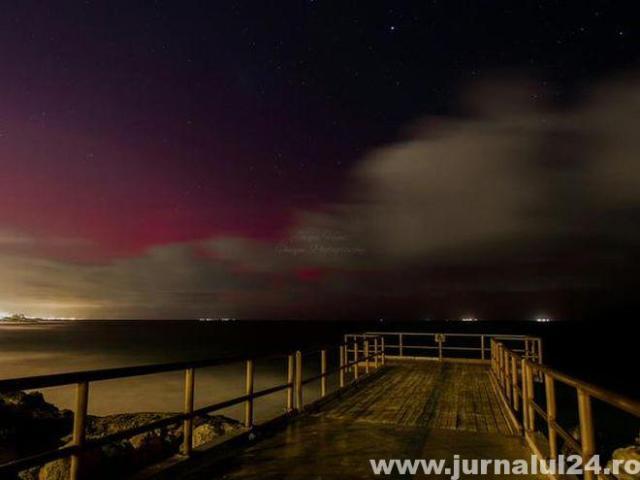 aurora boreală inedita