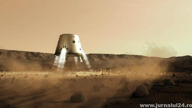 mars one robot