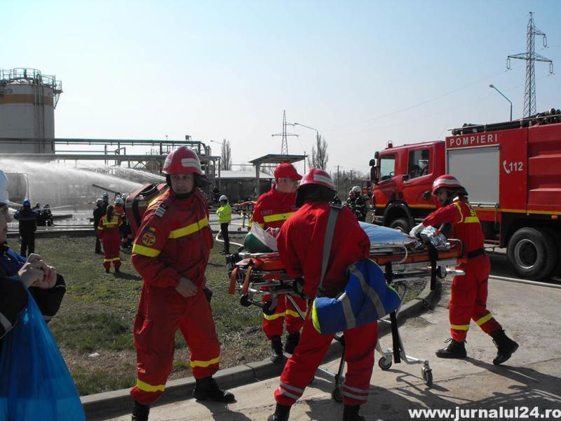 Intervenție în forță la o fabrică de ulei din Slobozia