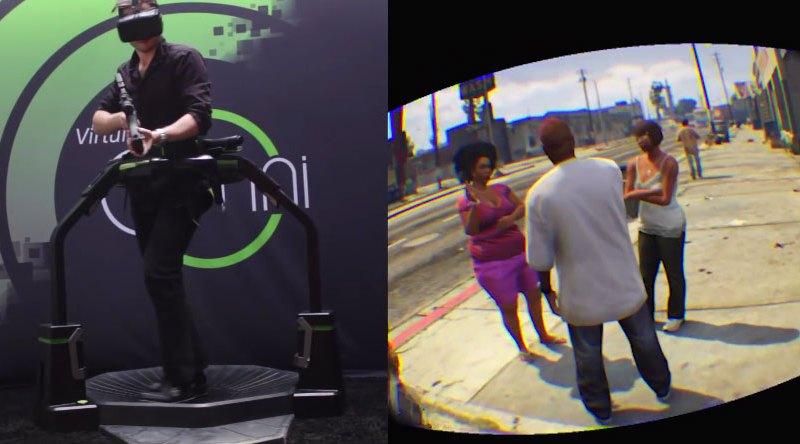 Video: GTA V rupe barierele realităţi virtuale pe un sistem Virtuix Omni