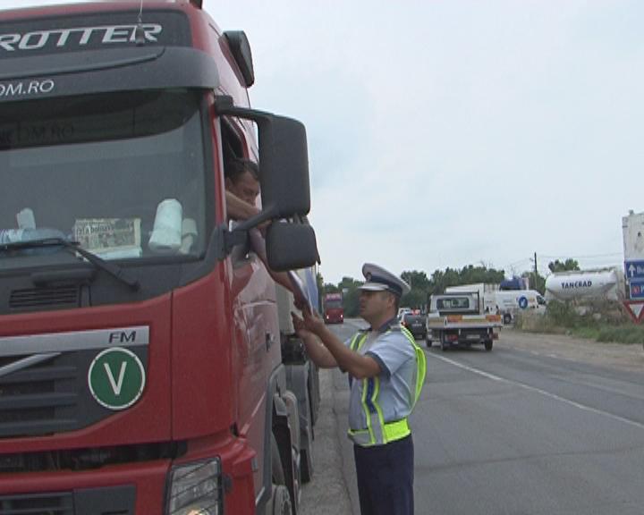 verificare camioane si autobuze politie