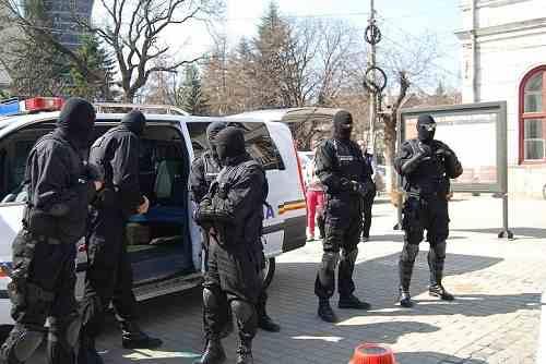 perchezitii poliția diicot