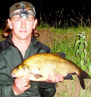 Andrew Kennedy with a 5lb River Trent Bream