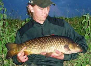 Andrew Kennedy with a double-figure River Trent Carp
