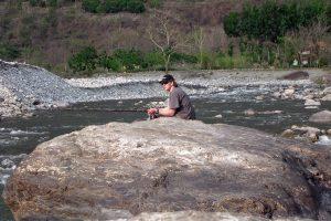 Andrew Kennedy mahseer fishing in India