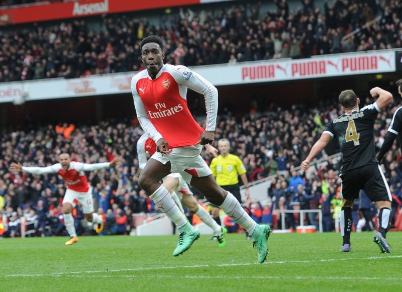 Image result for welbeck v leicester