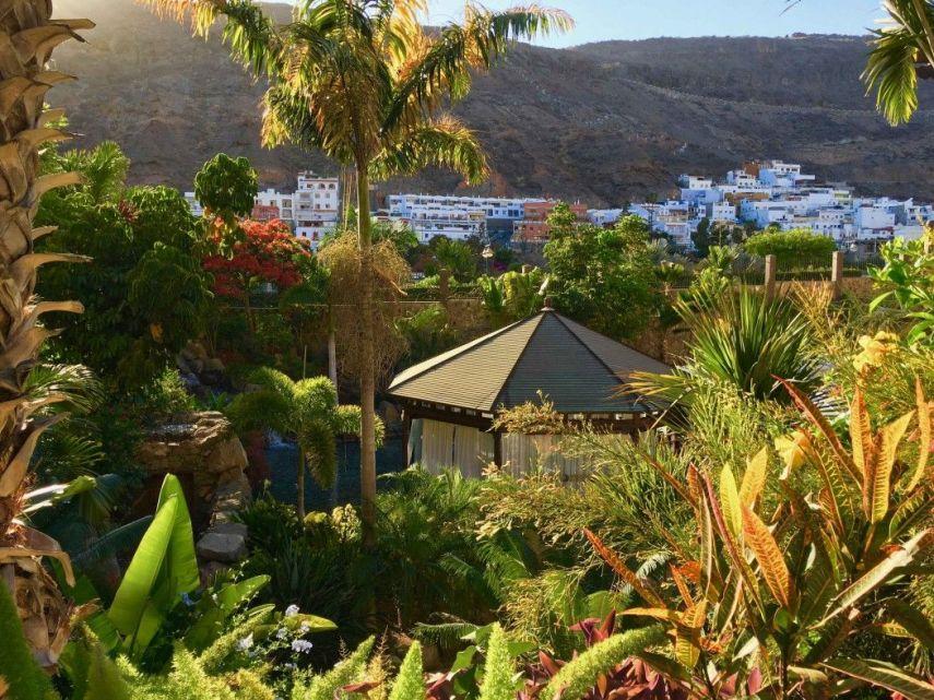 Das Resort ist in einen botanischen Garten eingebettet. Foto: Sascha Tegtmeyer