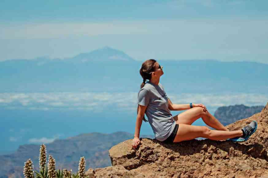 Mirador de Balcon: von diesem Aussichtspunkt kann man bis nach Teneriffa blicken. Foto: Pixabay
