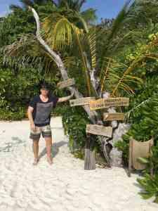 Malediven, Coco Palm Dhuni Kolhu, Tauchen, Schnorcheln, Korallenriff, DiveOcean Maldives, Segeln, SUP, Stand Up Paddling, Reisen, Urlaub, Wanderlust, Luxusurlaub, Resort, Resortinsel, Coco Collection coco palm dhuni kolhu Sascha Tegtmeyer erkundet das Malediven-Paradies Coco Palm Dhuni Kolhu sowohl über als auch unter Wasser.