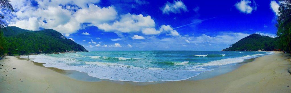 Bottle Beach: schwer zu erreichen, traumhaft schön. Foto: Sascha Tegtmeyer