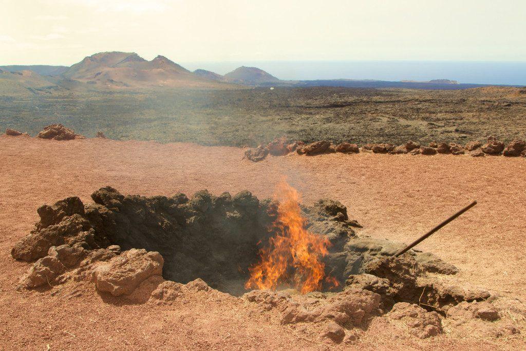 Der Timanfaya Nationalpark ist ein echtes Naturschauspiel. Foto: S. Tegtmeyer