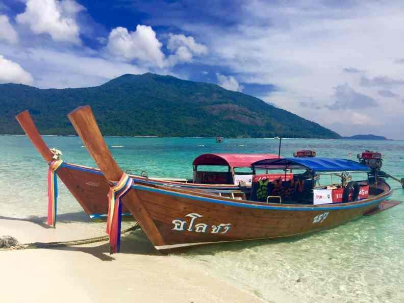 Sehnsuchtsziel Thailand: Viele Deutsche verbringen hier ihren Urlaub. Foto: Luisa Praetorius