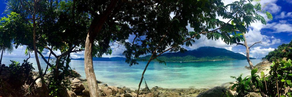 Vista desde Koh Lipe al Parque Nacional Tarutao. Foto: Sascha Tegtmeyer