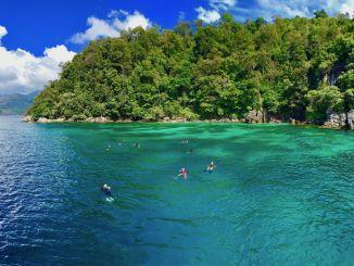 Tauchen auf Koh Lipe: rund um die kleine Insel befinden sich im Tarutao Nationalpark herrliche Tauchplätze.