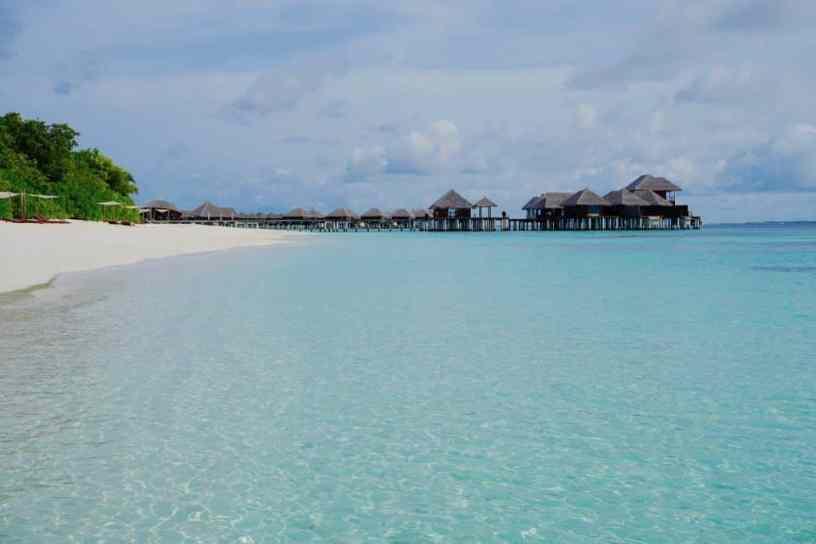 Lagune: Malediven-Tauchurlaub sollte unbedingt auch ein paar Tage am Strand beinhalten! Foto: Sascha Tegtmeyer