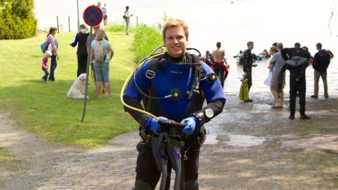 Sascha Tegtmeyer von Just Wanderlust hat das Scubaforce Black Devil Wingjacket in Hemmoor auf Herz und Nieren getestet!