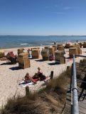 Der Strand in Scharbeutz ist ideal für Familien mit Kindern. Foto: Sascha Tegtmeyer