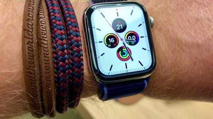 Apple Watch Series 5 im Test: Was leistet die Smartwatch für Urlauber, Aktive und Abenteurer? Foto: Sascha Tegtmeyer