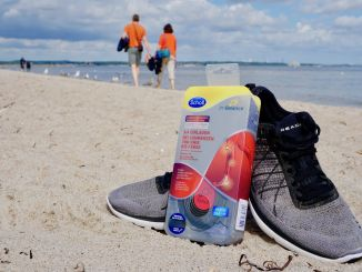 Anyone who moves a lot during their holidays should do something good for their feet: With Scholl In Balance 3 / 4 shoe inserts you are fit and active while traveling. Photo: Sascha Tegtmeyer