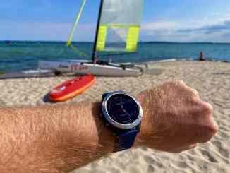 Eine Uhr für Segler und maritime Sportarten? Wir haben uns die Garmin quatix 6 im Test ausführlich angeschaut. Foto: Sascha Tegtmeyer