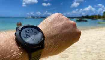Mit der Garmin Fenix 6 Pro am Handgelenk habe ich Mauritius erkundet. Fazit: Die ideale Smartwatch für Outdoor-Fans. Foto: Sascha Tegtmeyer