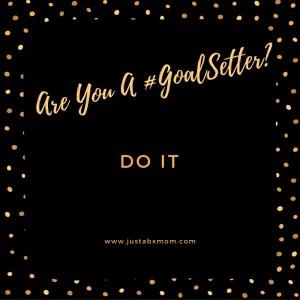 just do it goals goal setting