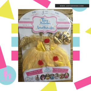 great pretendere - beauty & the beast - belle costume - doll clothes