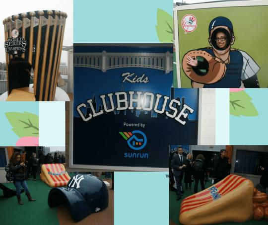 kids club house yankee stadium catcher